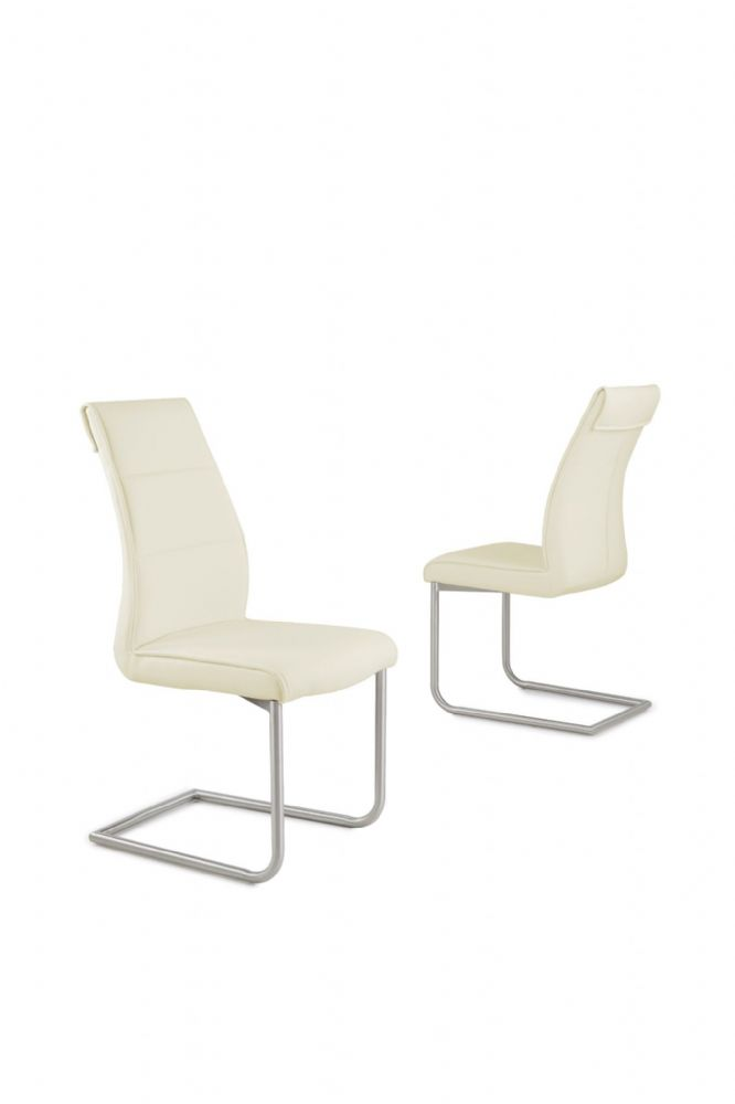 Zena MODERN DESIGNER CONTEMPORARY DINING ROOM CHAIR Cream